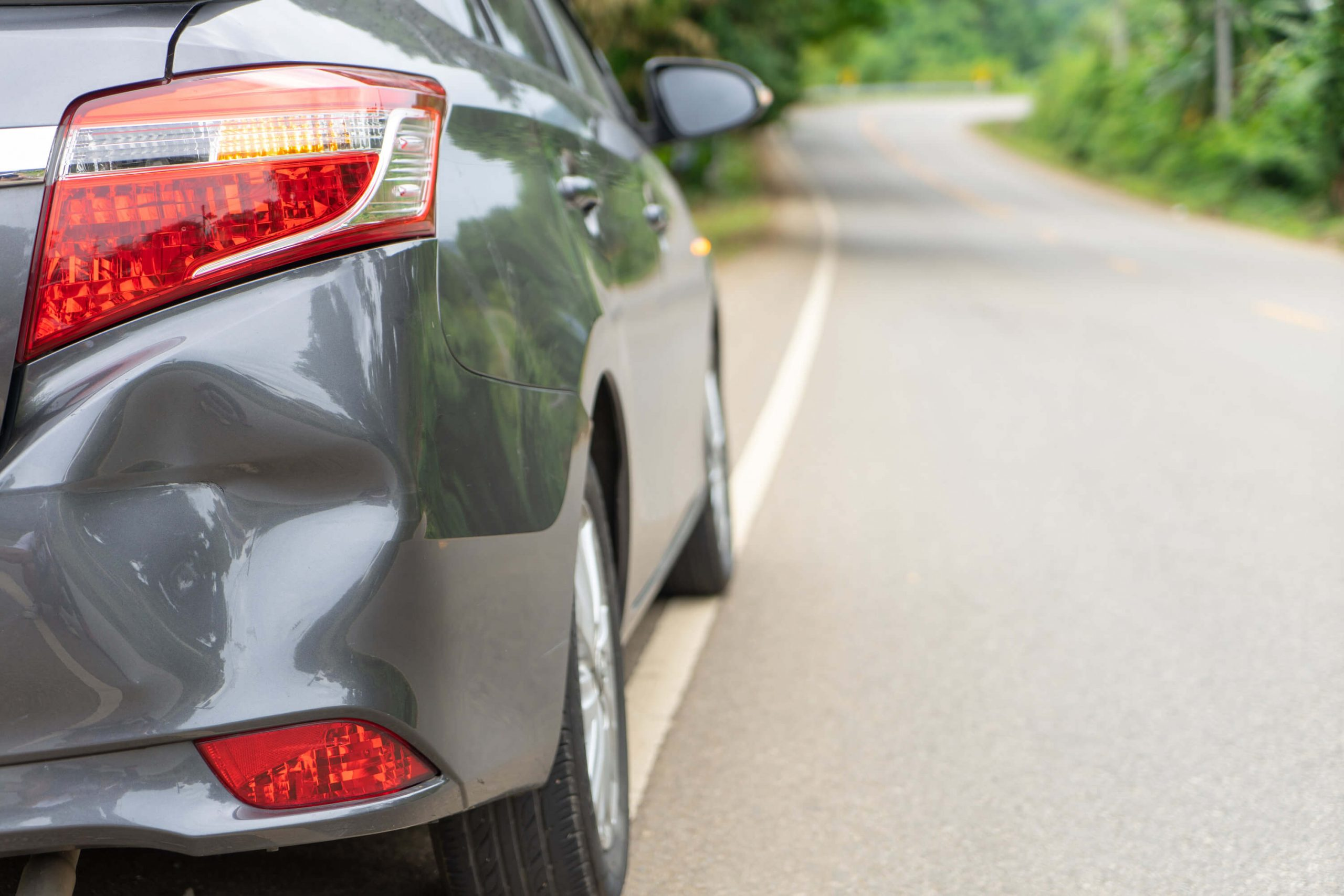 6 Common Causes of Car Dents