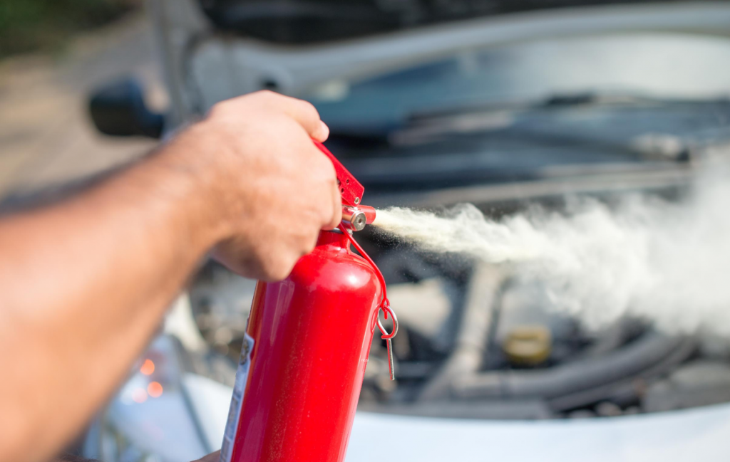 What to Do if Your Vehicle Catches on Fire